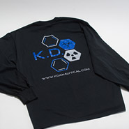 KD Black Long Sleeve Shirt MERCH-SHIRT-LS-BLK