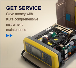 Save money with KD's comprehensive instrument maintenance